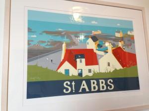 St Abbs print